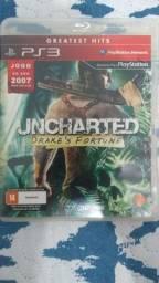 Título do anúncio: Jogo PS3 Uncharted mídia física