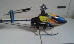 Helicóptero Trex 450 elétrico controle