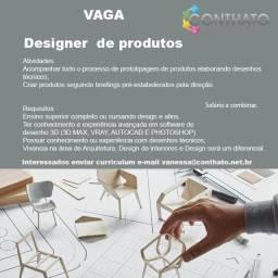 Título do anúncio: Designer de Produtos