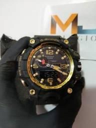 Relógio G-Shock Preto/Dourado