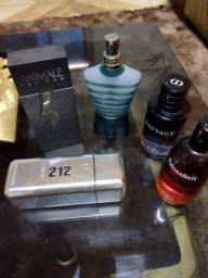 Lote de 5 perfumes masculinos