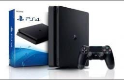 Playstation 4 Slim Modelo Novo/Garantia de Loja/Aceitamos Cartões(Loja GameStop)