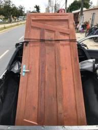 Porta de madeira maciça 80cmx204cm