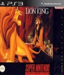 """Lion King De Super Nintendo Para PS3 """"Bloqueado e Desbloqueado Envio imediato!!"""""""