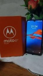 Moto e6plus na caixa