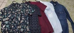 Camisas Manga Longa/Curta