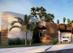 Casa Eco Valley Estilo Alto Padrão, 02 quartos com churrasqueira, 03 vagas de garagem