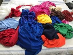 Vendo vários tecidos por R$70,00