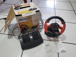 Volante GT MultiLaser para PC