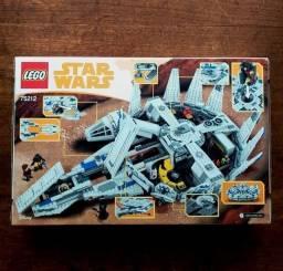 Lego Star Wars Disney 75212 Nave Kessel Run Milennium Falcon Novo