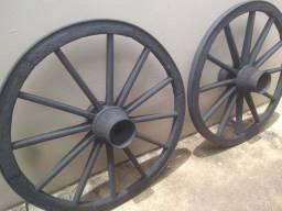 Roda carroça 92 cm diâmetro