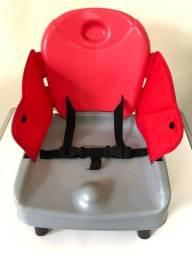 Assento/cadeira para Alimentação Festa Burigotto Vermelha