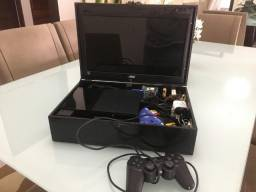 Playstation PS2 Móvel com TV digital (Intem raro kkkk)