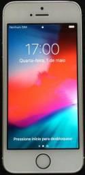 IPhone SE 64 Gb Prata Na Caixa
