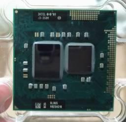 Processador Intel i3 350m notebook