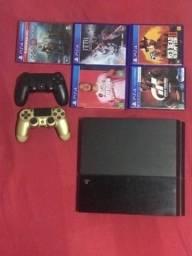 PS4 500GB 2 controles