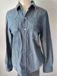 Blusa jeans mescla Tam. 40 - 29,00