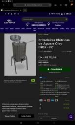 Fritadeira elétrica industrial