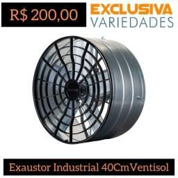 Título do anúncio: Exaustor Industrial Axial 40CM Ventisol