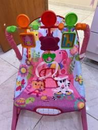 Cadeirinha Bebê descanso musical e vibratória Funtime Máxi Baby