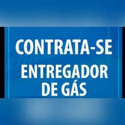 Título do anúncio: Contrata-se entregador de gás