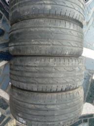 Torro jogo de pneus 235 50 18 meia vida bons ACEITO PIX