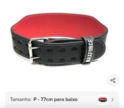 Cinturao de couro de academia