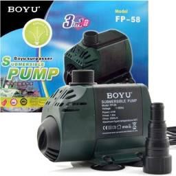 Título do anúncio: Bomba Submersa Aquários Lagos Fontes Boya FP-58 2500lh 127v