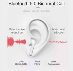 Fone Bluetooth i11 airpods Novo