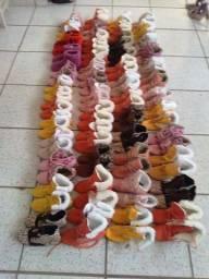 Lote de botinhas novas.obs:sou de Sapiranga RS.