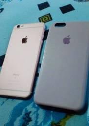 Título do anúncio: iPhone 6s Plus rose 64gb