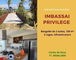 Imperdível: Imbassai  Privillege, o melhor vista mar ,  bangalôs 2 suítes, 158 m², 2 vagas