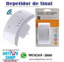Título do anúncio: Repetidor De Sinal Expansor Rede Wireless Wifi 300 Mbs Rj45