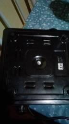 Fogão elétrico e churrasqueira elétrica