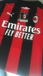 Camisa Milan 20/21 - Pronta entrega