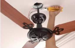 Instalador de de Ventiladores de Teto / Eletricista
