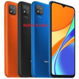 Título do anúncio: Redmi 9 64 GB/4GB laranja/Preto/Azul índia
