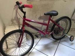 Bike 24 Aço Carbono Nova