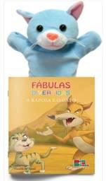 Fábulas Divertidas com Fantoche: A Raposa e o Gato
