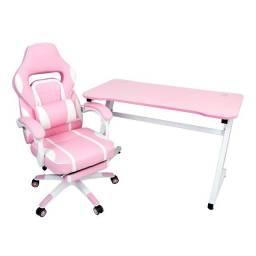 Mega Oferta KIT Cadeira Gamer reclinável e Mesa Gamer  com Garantia e Com Entrega Grátis