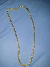 Vendo cordão banhado a ouro 24k