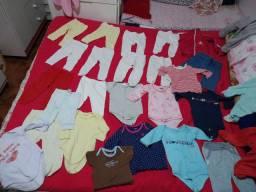 Vendo Lotinho de roupa bebe menina