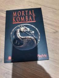 Dvd mortal Kombat com luva