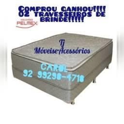 Cama Box Casal Molas ________