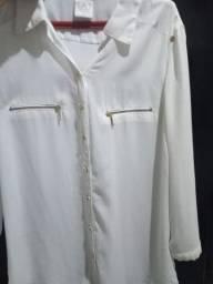 Blusa de crepe confortável,. da renner, tam.42,44, nova.