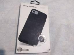 Título do anúncio: Capa iPhone 7 iWill Preta