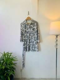 Título do anúncio: Vestido Mangas P/M algodão (curto)