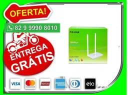 Aproveite.Produto-Novo>Roteador Wireless de 300Mbps com 2 Antenasv