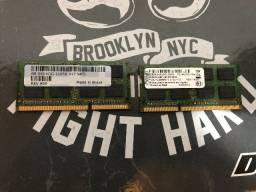 8 GB Memória Ram DDR3 para laptop DELL