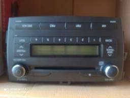 Rádio original do Corolla